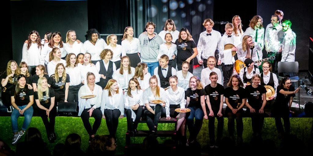 Multiforestilling Ørestad Gymnasiums Musical