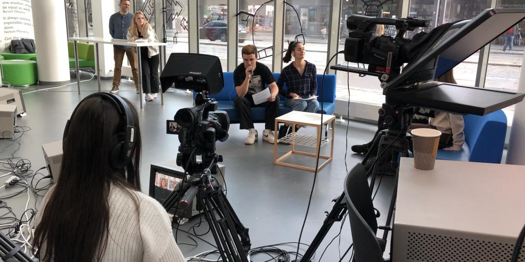 OEG live show Ørestad Gymnasium Mediefag