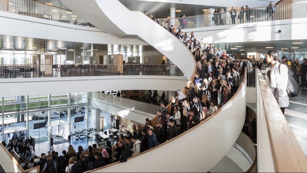 Trappen Ørestad Gymnasium Mediegymnasium