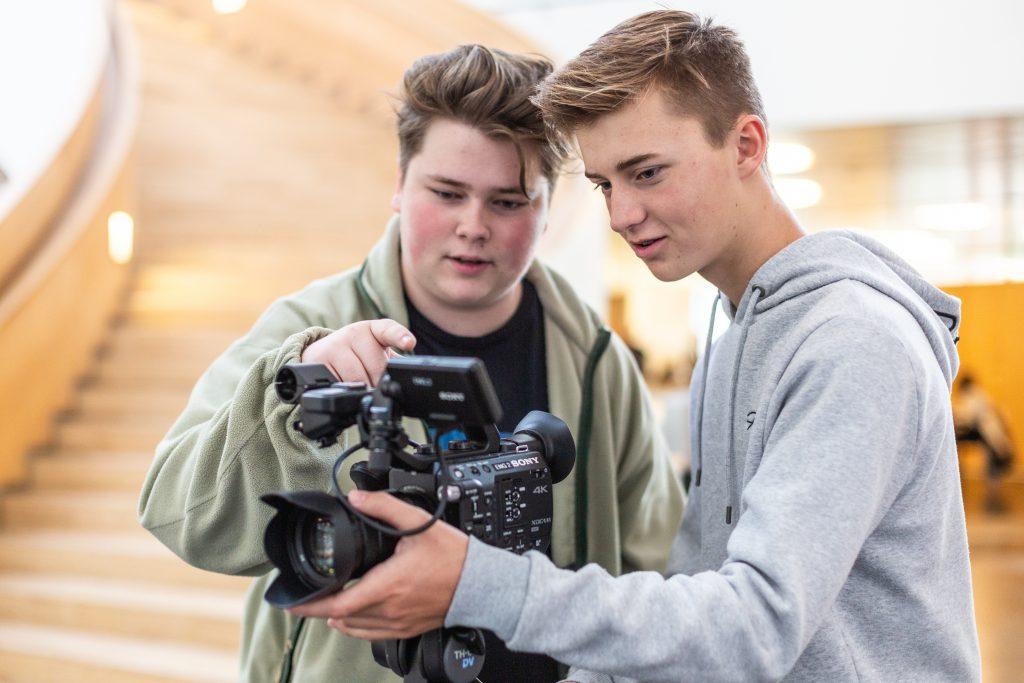 Mediefag A på Mediegymnasium Ørestad Gymnasium