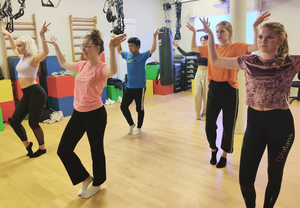 Multiforestilling Ørestad Gymnasium musical5