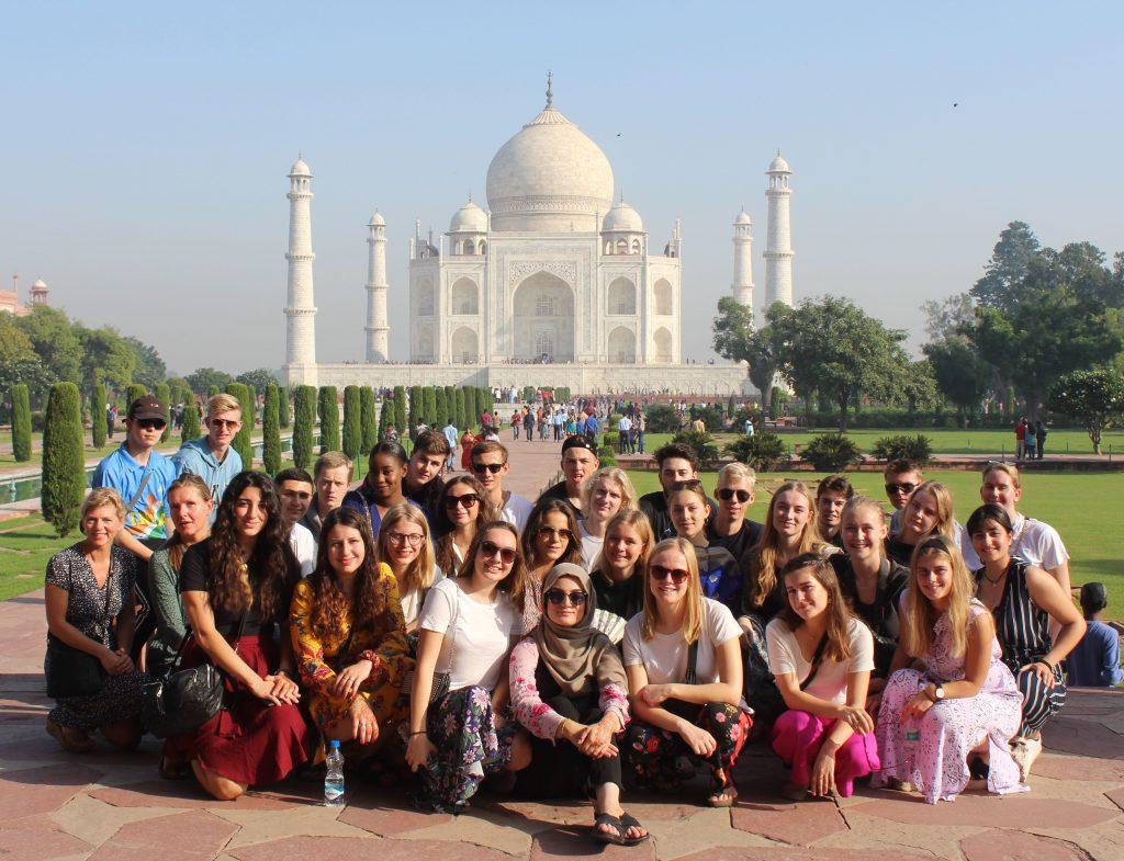 Taj Mahal Studietur Rejse Ørestad Gymnasium