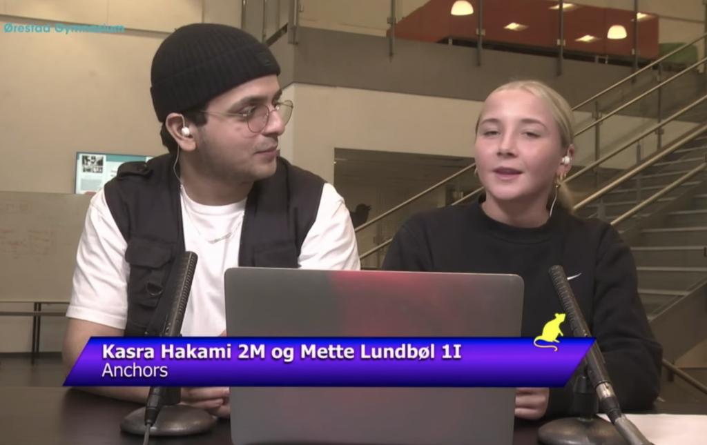 OEG Live mediegymnasium Ørestad Gymnaisum