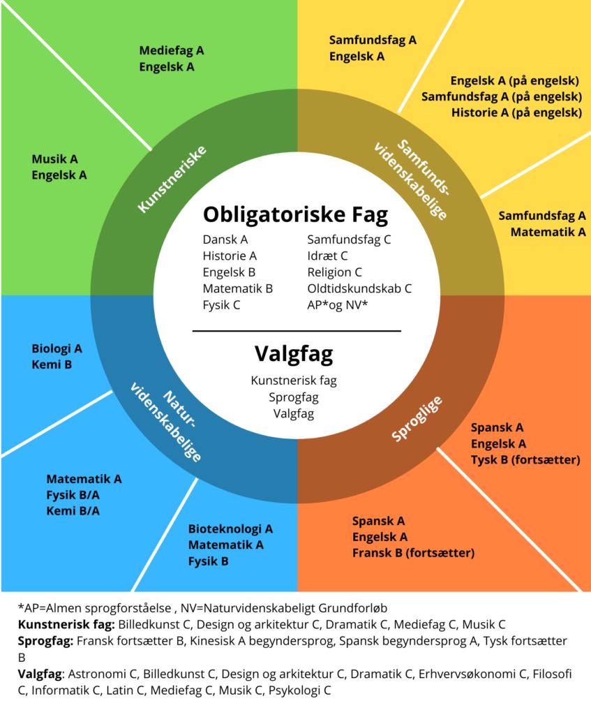 Studieretninger Ørestad Gymnasium Bedste gymnasie i København
