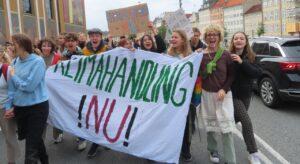 Ørestads elever klimastrejker